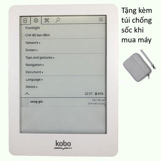 Máy đọc sách Kobo cài sẵn KOReader - Tặng túi chông sốc