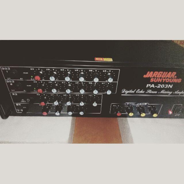 Âm ly jagua 203n loại xịn 8 sò loại to Amly hát karaoke nge nhạc hay đã qua sử dụng