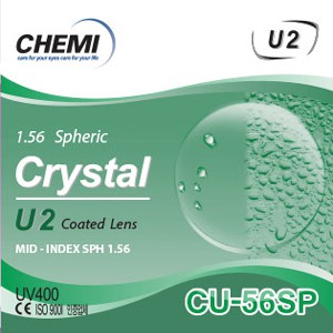 Chemi ASP Crystal U2 Coated – Chiết suất 1.56