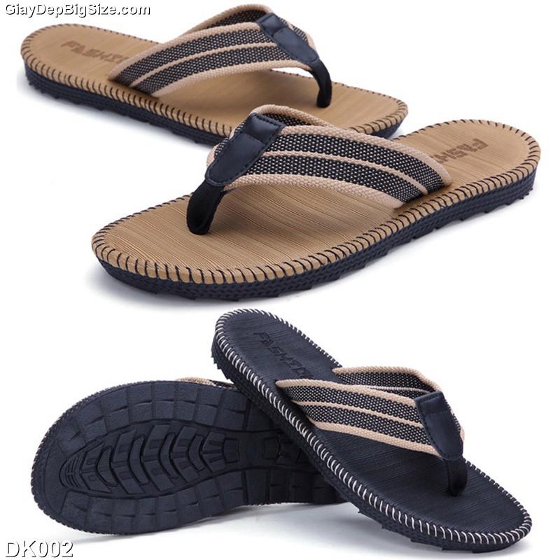 Dép tông-kẹp xỏ ngón (flip-flops) nam big size cỡ lớn 44 45 46 47 48 cho chân to