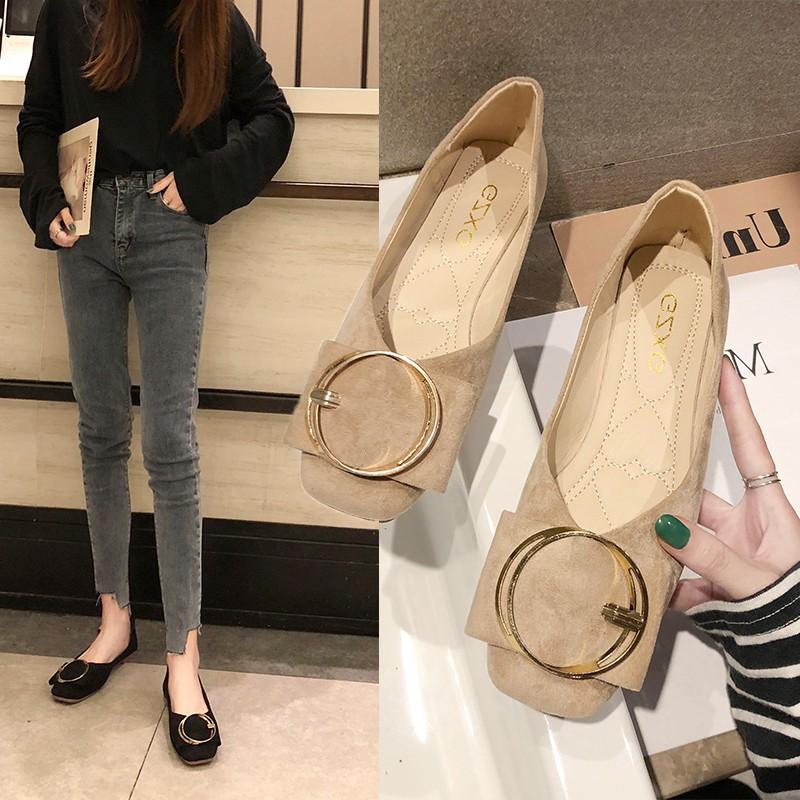 Giày búp bê mũi nhọn phong cách Hàn Quốc thanh lịch dành cho nữ - 21853095 , 7704968987 , 322_7704968987 , 331200 , Giay-bup-be-mui-nhon-phong-cach-Han-Quoc-thanh-lich-danh-cho-nu-322_7704968987 , shopee.vn , Giày búp bê mũi nhọn phong cách Hàn Quốc thanh lịch dành cho nữ