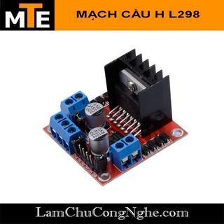Mạch điều khiển động cơ L298 - Mạch cầu H L298N thumbnail