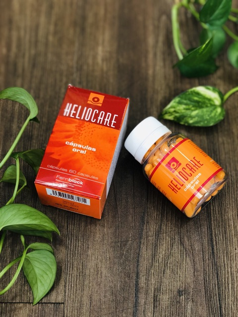 Image result for Heliocare Oral Viên uống chống nắng