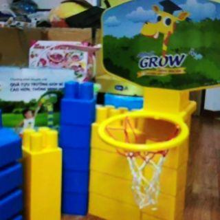 Bộ bóng rổ khuyến mãi của Grow