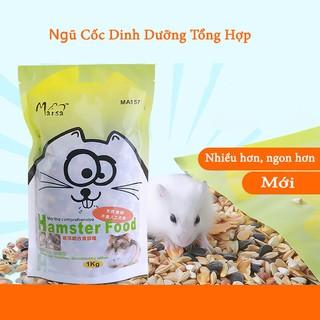 Thức ăn ngũ cốc hạt cho Hamster hương vị ngon kích thích vị giác thumbnail