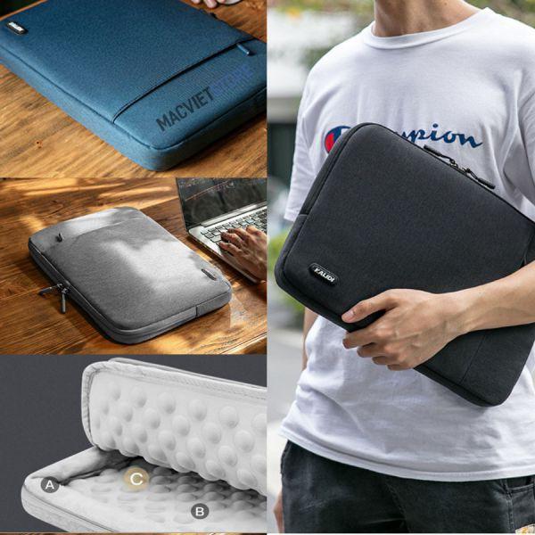 Siêu Túi Chống Sốc Laptop, Macbook Kalidi Cao Cấp (T010)
