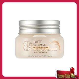 Kem Dưỡng Ẩm Sáng Da Gạo The Face Shop Rice & Ceramide Moisture Cream - 50ml