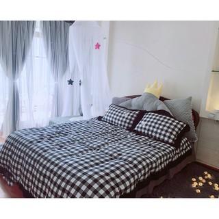Rèm cửa sổ phòng ngủ, rèm dán tường, bếp 2 lớp chống nắng