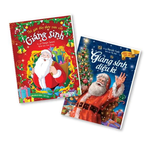 Bộ 02 Cuốn Sách Giáng Sinh Yêu Thương - Thế Giới Đầy Phép Màu Của Giáng Sinh