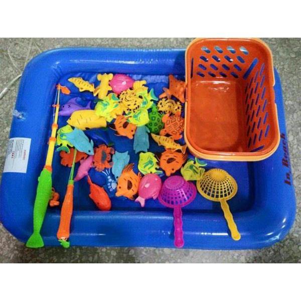 [CÓ SẴN] Bộ bể câu cá nam châm cho bé
