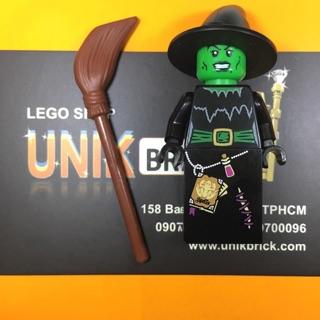 Lego UNIK BRICK Witch Mụ phù thuỷ trong Minifigures Series 2 chính hãng (như hình).