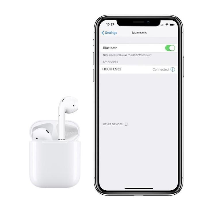 Tai Nghe Bluetooth ES32 HOCO Original TWS Hỗ Trợ Sạc Không Dây