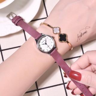 Đồng hồ nữ Doukou chính hãng dây da mặt nhỏ xinh 28mm thumbnail