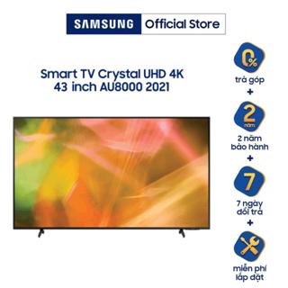[Mã SAMAPR giảm 5% đơn 4TR5] Smart Tivi Samsung Crystal UHD 4K 43 inch UA43AU8000KXXV - Miễn Phí Lắp Đặt thumbnail