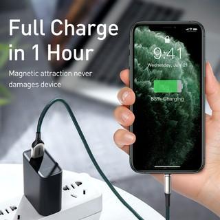 Hình ảnh Cáp Sạc USB Baseus Từ Tính cho iPhone OPPO Realme-4