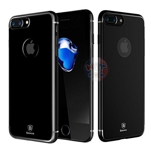 Ốp lưng trong suốt viền màu Baseus Glitter Case cho Iphone 7 / 8 / 7 Plus / 8 Plus