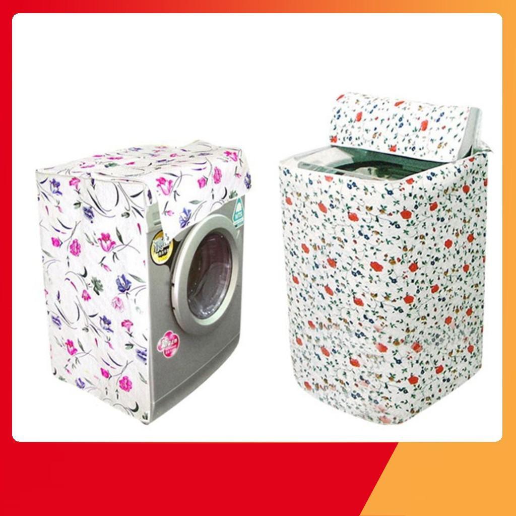 [HOT SALE] Vỏ bọc máy giặt chống thấm satin cao cấp giao màu ngẫu nhiên - SIÊU BỀN