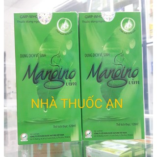 Dung dịch vệ sinh phụ nữ Mangino vim 120 ml