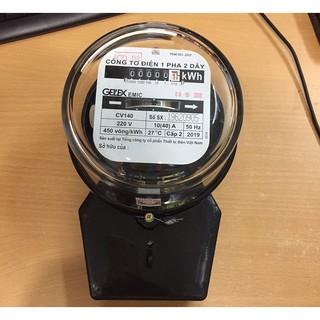 Đồng hồ điện 1 pha 40A GELEX EMIC – CÔNG TƠ ĐIỆN 1 PHA CÓ KIỂM ĐỊNH