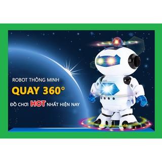 Robot thông minh khiêu vũ theo nhạc 360 độ LN60228