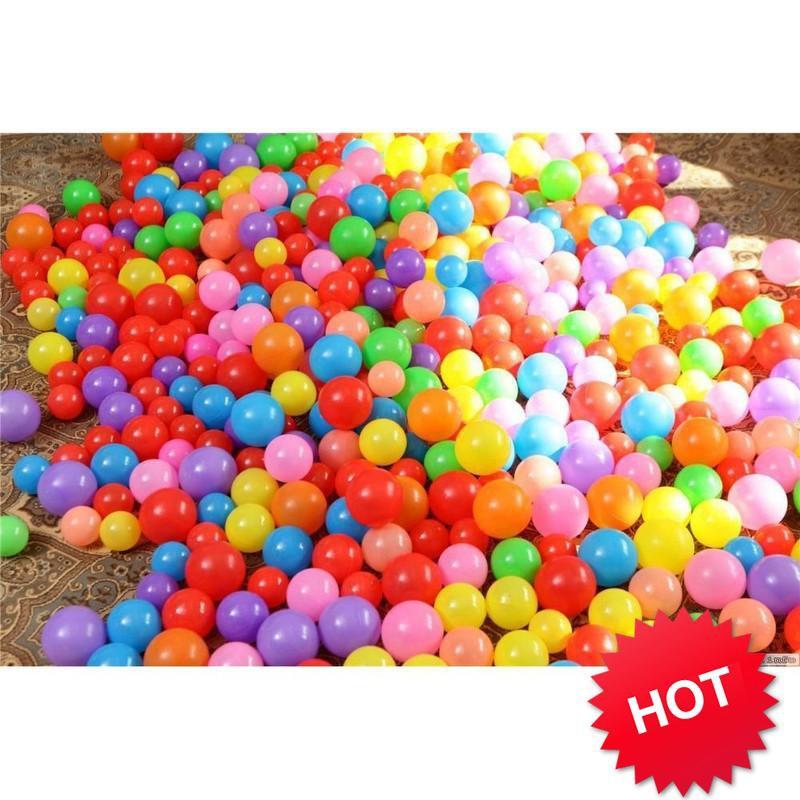 [SHIP THẦN TỐC] – Túi 100 bóng nhựa Size 7,5 cm cho bé