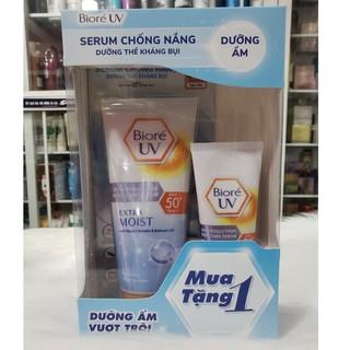 Serum chống nắng Biore UV Anti Pollution Body Care Extra Moist SPF 50+/PA+++ 150ml