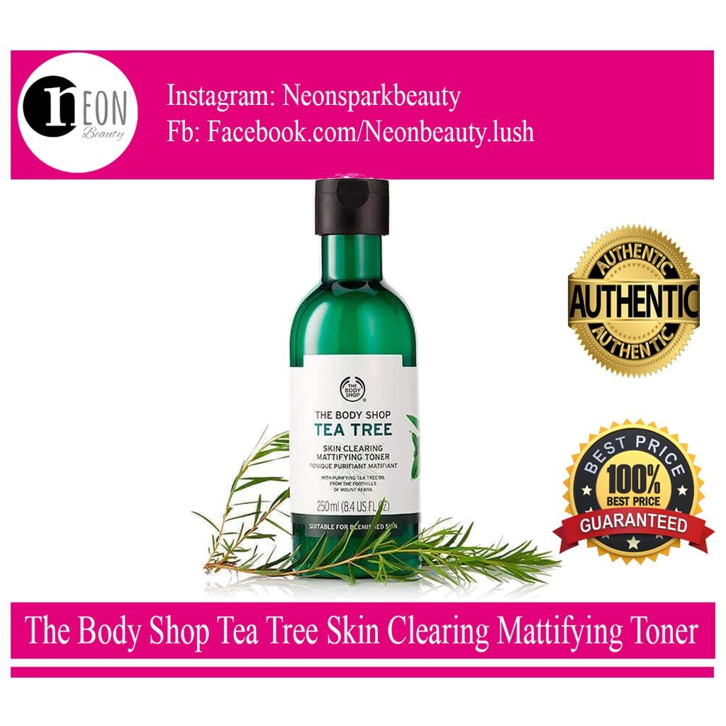 Nước hoa hồng The Body Shop - Tea Tee Skin Clearing Mattifying Toner
