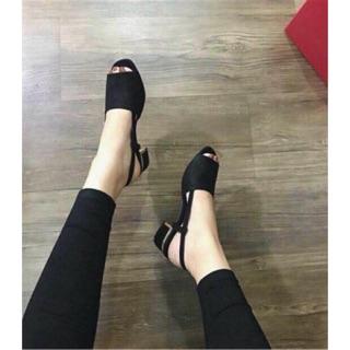 Sandal đen