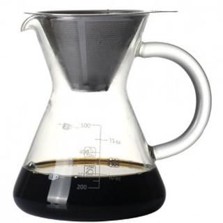 Bình pha cà phê bằng thủy tinh kèm bộ lọc 600ml V60 thumbnail
