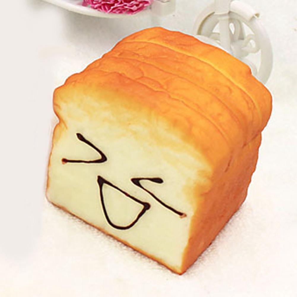 Cute Jumbo Breads Squishy Cellphone Strap Bread Scent Toast Slow Rising Gift