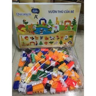 BỘ LEGO LẮP GHÉP VƯỜN THÚ CỦA BÉ ENFA [3+]