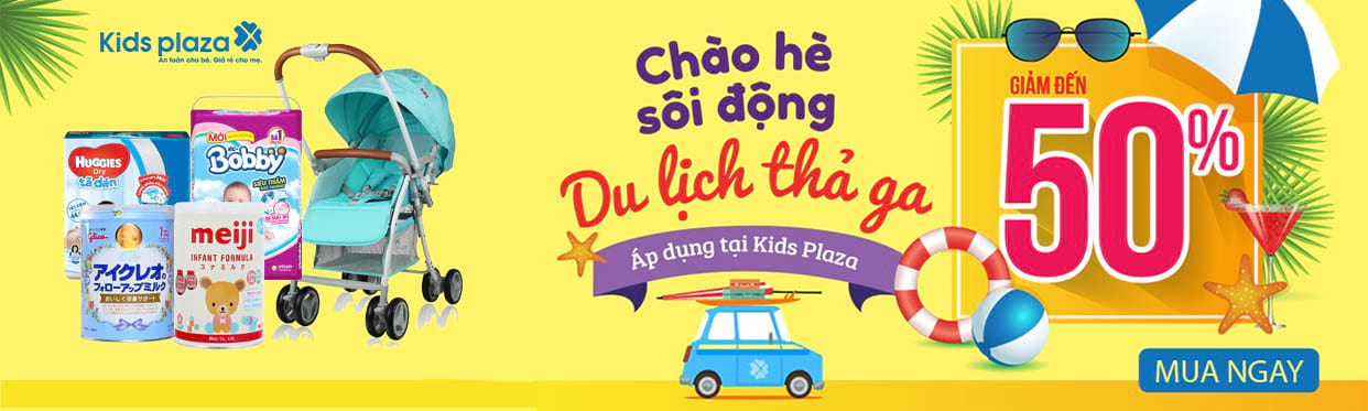 KIDS PLAZA ưu đãi độc quyền tại Shopee - Click ngày để xem voucher khuyến mãi mỗi ngày