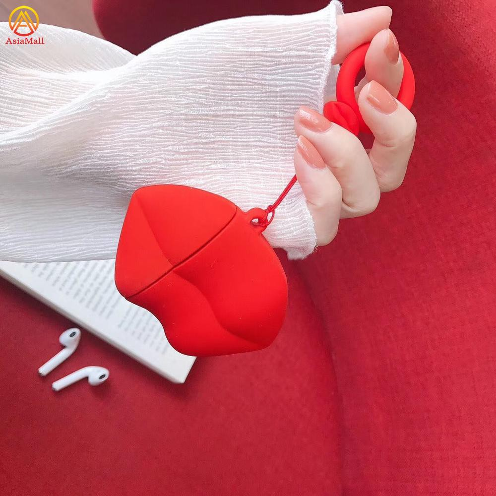 Túi đựng tai nghe Airpods không dây hình đôi môi màu đỏ thời trang - 14696786 , 2385313086 , 322_2385313086 , 169000 , Tui-dung-tai-nghe-Airpods-khong-day-hinh-doi-moi-mau-do-thoi-trang-322_2385313086 , shopee.vn , Túi đựng tai nghe Airpods không dây hình đôi môi màu đỏ thời trang