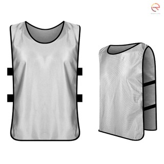 bgir 6 PCS Adults Soccer Pinnies Quick Drying Football Jerseys Sports Scrimmage Practice Sports Vest Team Training Bibs