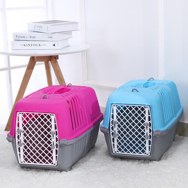 Lồng nhựa vận chuyển chó mèo, lồng hàng không