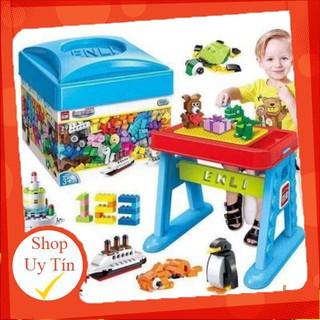 Bộ Đồ Chơi Lego 460 Chi Tiết Phát Triễn Kỹ Năng Cho Bé