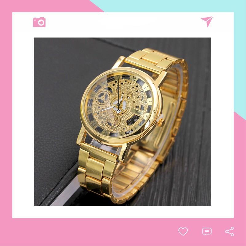 Đồng hồ nam dây kim loại Modiya phong cách Hàn Quốc DH102