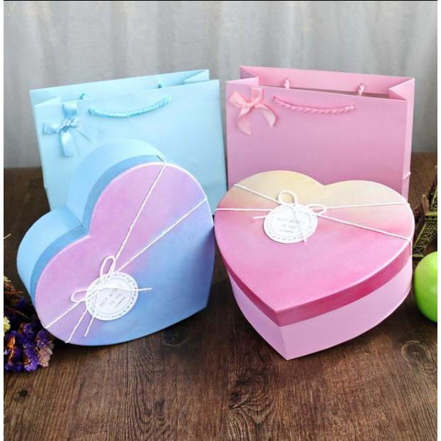 hộp quà valentine hình trái tim - 23042799 , 2271242499 , 322_2271242499 , 172500 , hop-qua-valentine-hinh-trai-tim-322_2271242499 , shopee.vn , hộp quà valentine hình trái tim