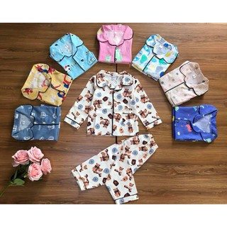 Pijama thô lụa Hàn Quốc (2-7 tuổi)