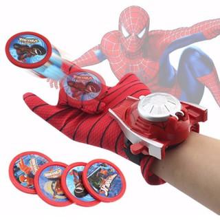 Găng tay người nhện bắn đĩa