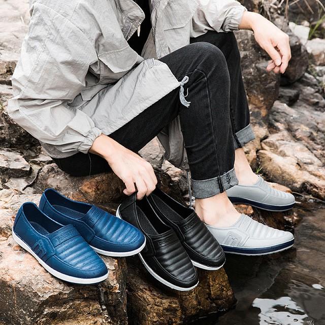 Giày Thời Trang Đi Mưa Cao Cấp