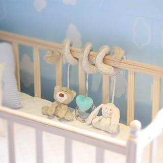 New Baby Kids Mềm Plush Toy Animal Lục Lạc Giường Nôi Phát Triển Đồ Chơi