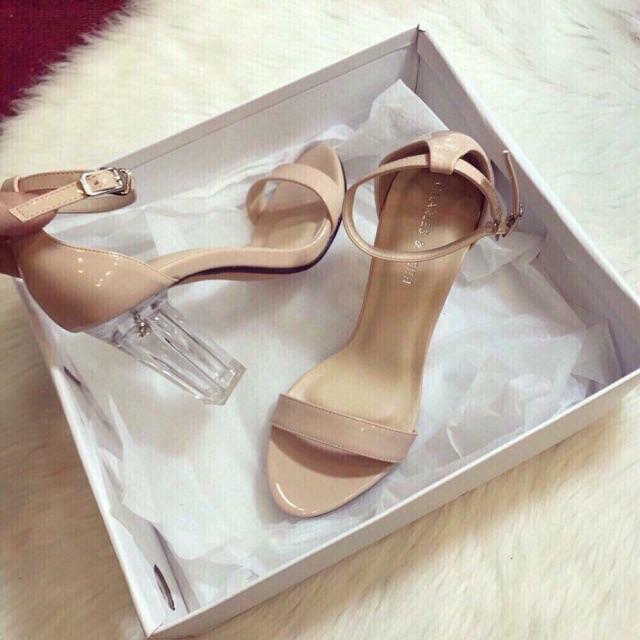 Sandal cao gót gót trong - 3296081 , 994010038 , 322_994010038 , 929000 , Sandal-cao-got-got-trong-322_994010038 , shopee.vn , Sandal cao gót gót trong