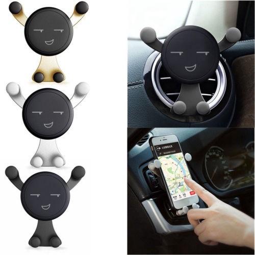 Giá đỡ điện thoại trên khung máy điều hòa có thể xoay 360 độ thiết kế xinh xắn tiện dụng