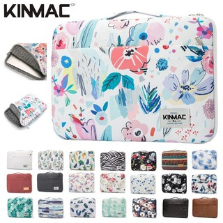 (Ảnh thật) Túi chống sốc hoa văn 360 macbook laptop có tay xách KinMac-M384-túi chống sốc cho nữ