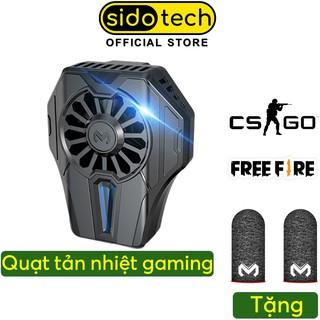 Quạt tản nhiệt làm mát cho điện thoại SIDOTECH Memo DL01 Cổng Lightning TypeC Tản nhiệt nhanh 2 chế độ làm lạnh thumbnail