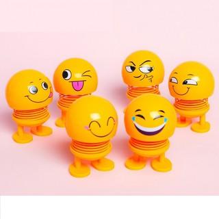 Com bo 6 thú nhún Emoji lò xo cảm xúc