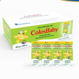 Thùng Sữa bột pha sẵn ColosBaby gold 180ml(48 hộp) thumbnail