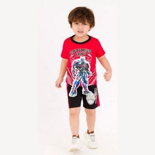 Bộ quần áo ngắn tay Rabity Tranformer hàng nhập khẩu 30062