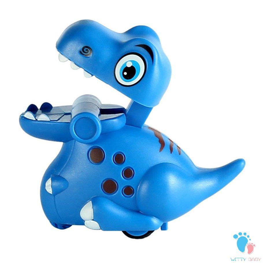 Pressed Little Dinosaur Inertia Car Children's Cartoon Toys Slide Inertia Toy